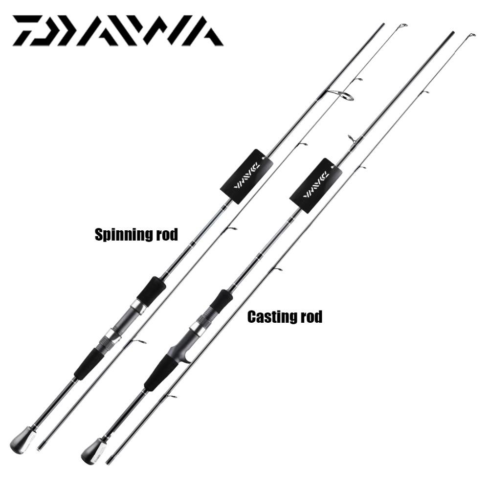 2018 New Daiwa Crossfire 662mfs 662mhfb 662mfb Casting Spinning Rod Fishing Fast Action 198m 66m Mh Power Aluminum Guide From Abby2016