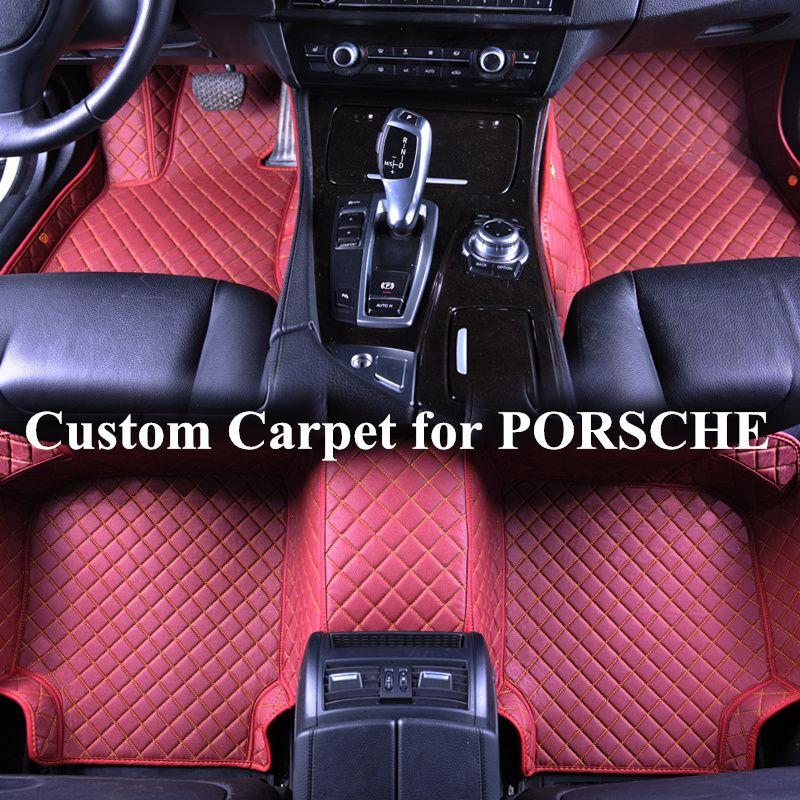 2019 Wholesale Custom Car Floor Mats For Porsche 911 Carrera Macan