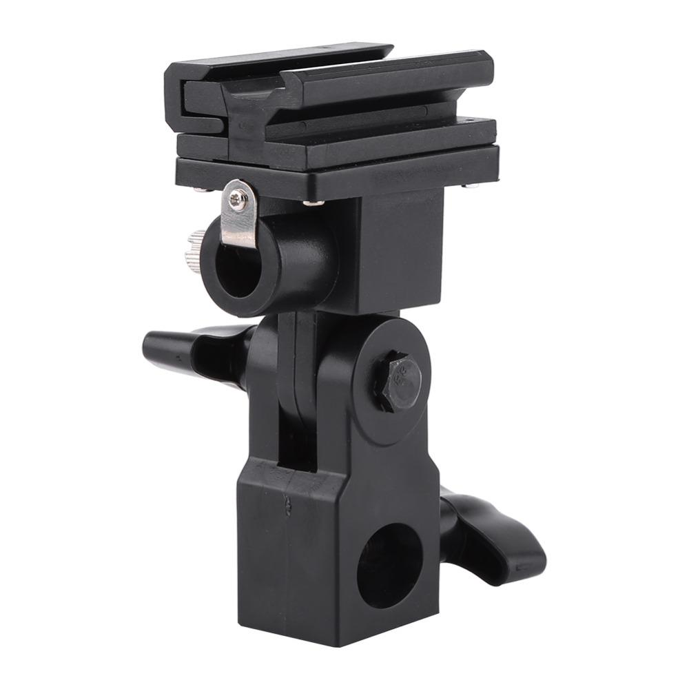 Freeshipping Hot Shoe Flash Umbrella Holder Light Stand Bracket For Photo Video Photography for Photographic Umbrella Flashes Lighting