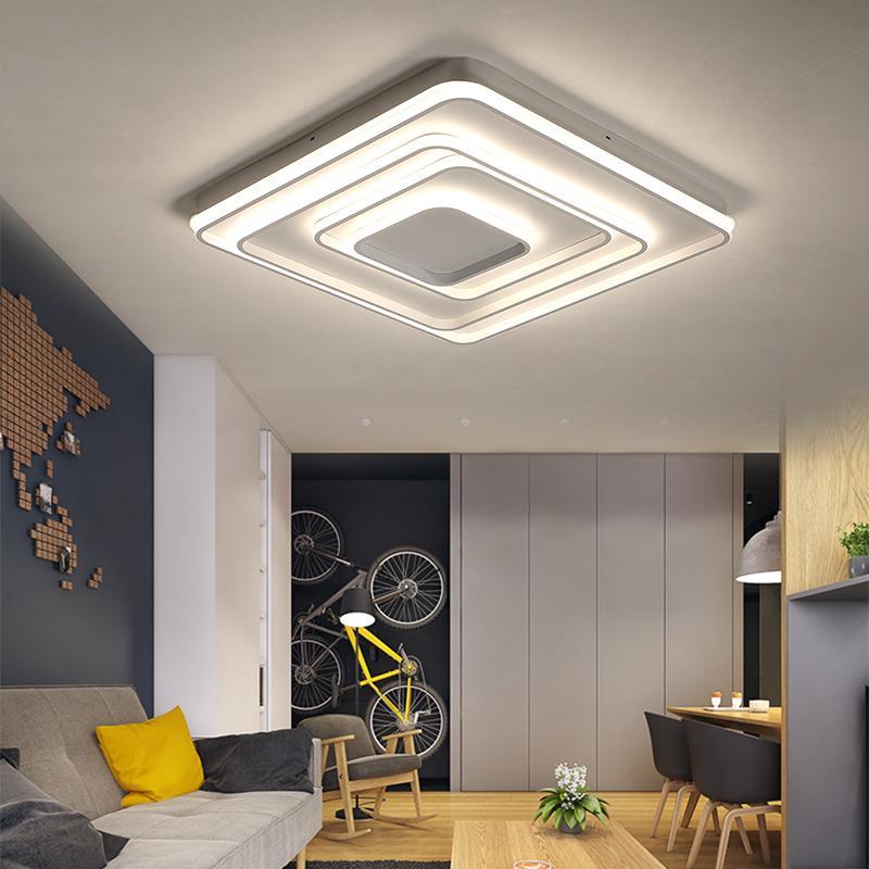 Acheter Lican Moderne Led Plafonniers Salon Chambre Couloir Lampe