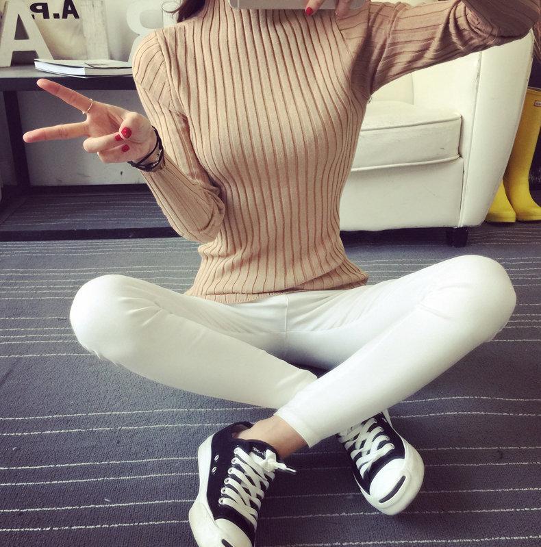 Iceinside donne coreane maglione pullover maglione donne maglioni e pullover maglione vertibile femminile maglione lavorato a maglia Top