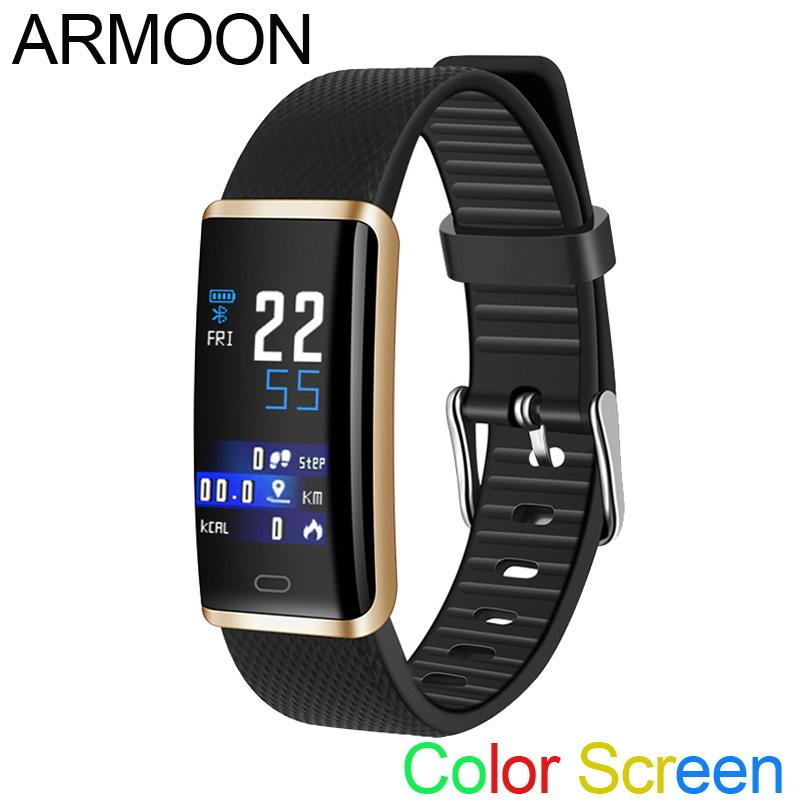 8d36278f4280 Smart Band R9 Pulsera de fitness de ritmo cardíaco Sleep Monitor Fitness  Tracker Android IOS Smartwatch Pantalla de color de banda VS mi 2 3
