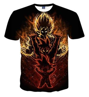 tshirts Summer T-Shirt Sexy tee Sasuke Dragon Ball Super Naruto 3d t shirt Sport tshirt for women men tops