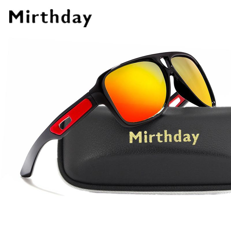 Mirthday Mens Pilot Polarized Sunglasses Outdoor Sport Fishing Glasses Male Reflective Coating Mirror Driving Sun Glasses uv400