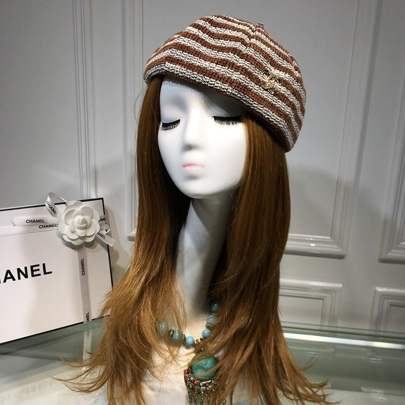 cdae7809a9f Wool Cashmere Peaked Beanie Wool Yarn Hats Autumn And Winter LADIES ...