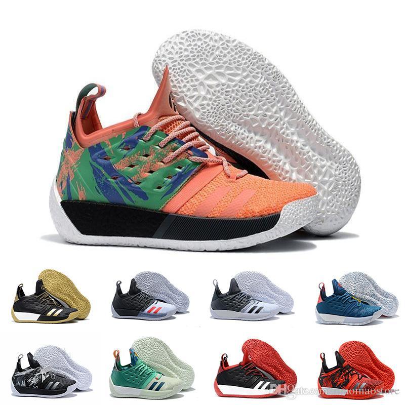 size 40 3b087 d78d5 Acquista 2018 Nuovi i MVP Adidas Harden Vol. 2 MVP Uomo Scarpe Da Basket  Moda Sport Multi Colore Alta Qualità Indoor E Outdoor Sneakers A  156.98  Dal ...