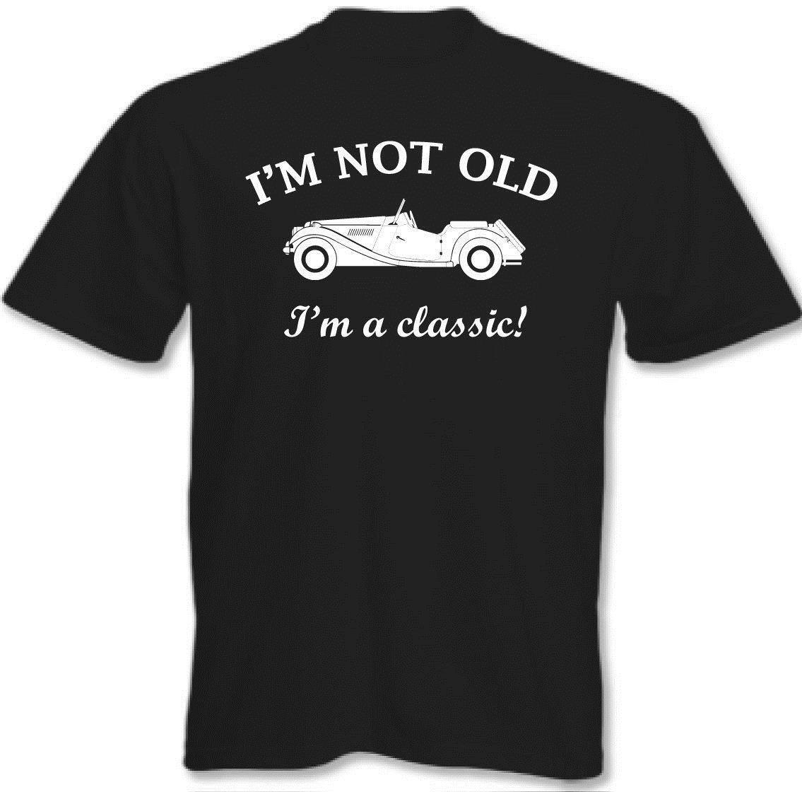 IM Not Old Mens Funny 21st 30th 40th 50th 60th 70th 80th 90th Birthday T Shirt Print Short Sleeve Tee Buy Designs From