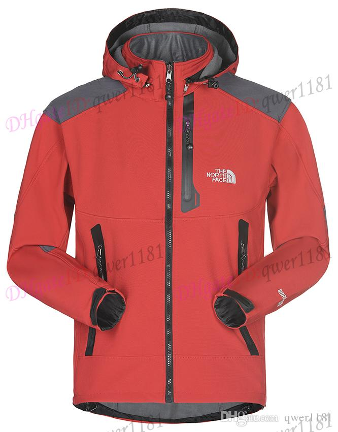 4f92b4cf59a The North Men Softshell Jacket Face Coat Men Outdoors Sports Coats ...