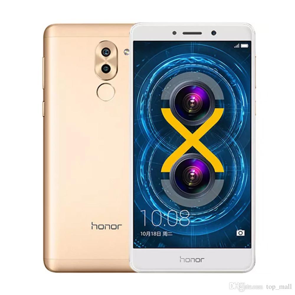 Huawei Honor 6x Global Firmware 4g Lte Mobile Phon Kirin 655 Octa Xiaomi Redmi 3s Pro 3 32 Gb Rom Gold Core Dual Rear Camera 55 3gb Ram 32gb Dhl Original Phone