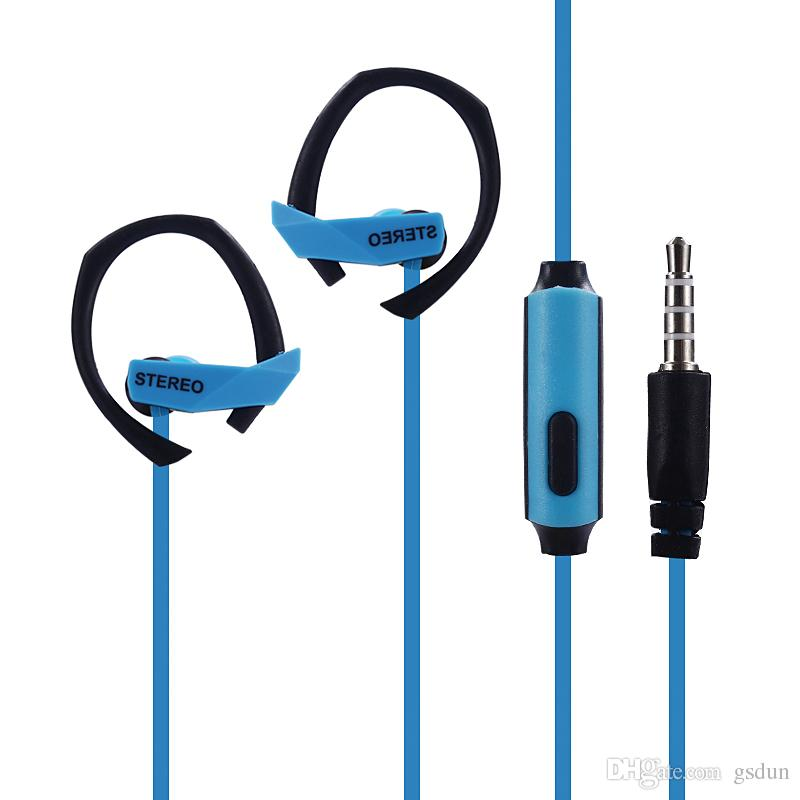 SF-A29 Ear Hook Sport Earphone Bass Music Headset Stereo handsfree Headphone With Mic 3.5mm Earbuds For All Mobile Phone MP3 Running Headse