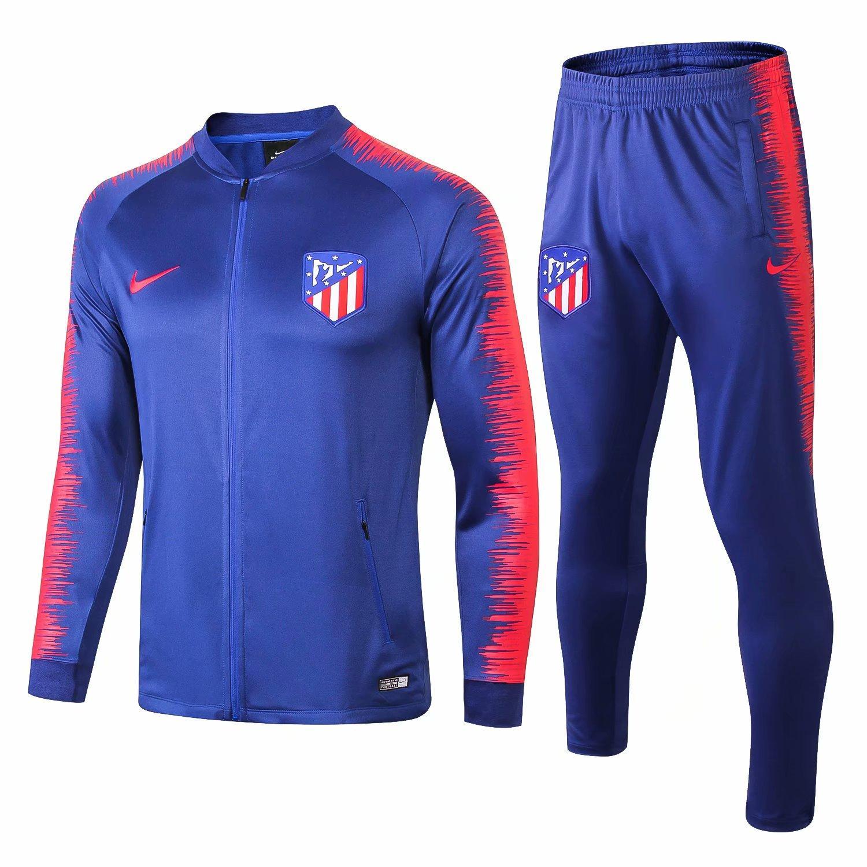 Compre AAA + Nueva 18 19 Temporada Chaqueta Atlético De Madrid 2018 2019 En  Casa Traje De Entrenamiento De Costa Griezmann Camisetas De Fútbol Chándal  De ... a69694d782f7e
