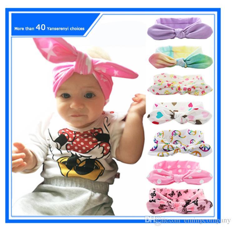 2019 Baby Cotton Headbands Baby Bow Headband Wave Point Turban Twist Head  Wrap Twisted Knot Soft Hair Band Headbands Bandanas From Emingcompany f0d169c0c96