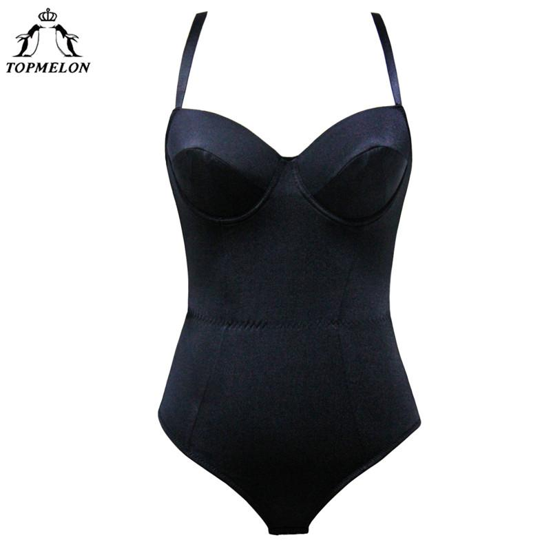 c0adc88700f7 2019 Wholesale Modeling Strap Bodysuit Underwear Women Waist Trainer Corset  Body Shaper Shaperwear Slimming Sexy Push Up Gothic Suit From Clothesg009