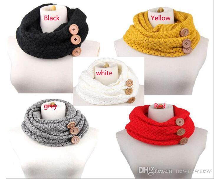Großhandel 60 * 30 Cm Winter Warm Gestrickte Infinity Schal Luxus ...