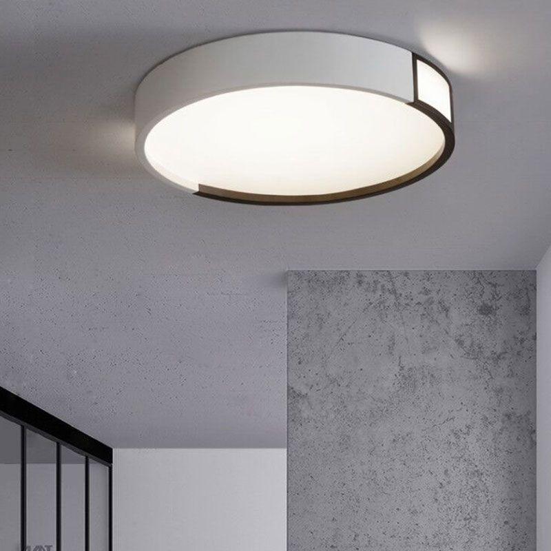 LED Deckenleuchte Moderne Lampe Panel Wohnzimmer Runde Leuchte Schlafzimmer  Küche Halle Aufputz Unterputz Fernbedienung