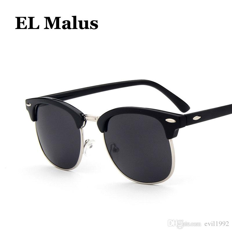 fashion Oval Matel Frame Sunglasses Children Kids Uv400 Pink White Gray Lens Mirror Vintage Sun Glasses Boys Girls Latest Technology el Malus Hearty