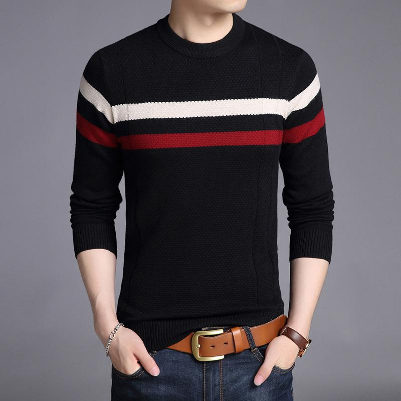 2019 Woolen Sweater Men Casual Blouse 2018 Autumn Winter New Fashion