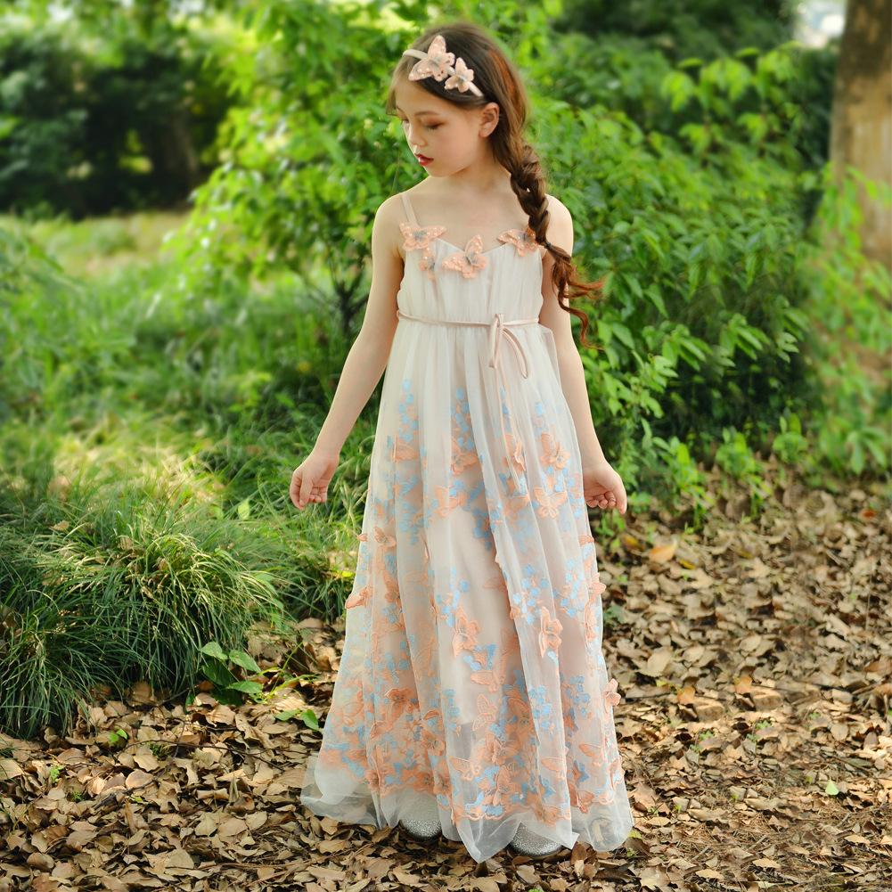 2018inssummerandsummerbutterflyembroidered: Erfly Embroidered Wedding Dress At Reisefeber.org