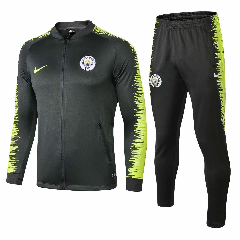 27c3abc0846 Best-selling New 18-19 Season Manchester City F.C. AGUERO Jacket ...