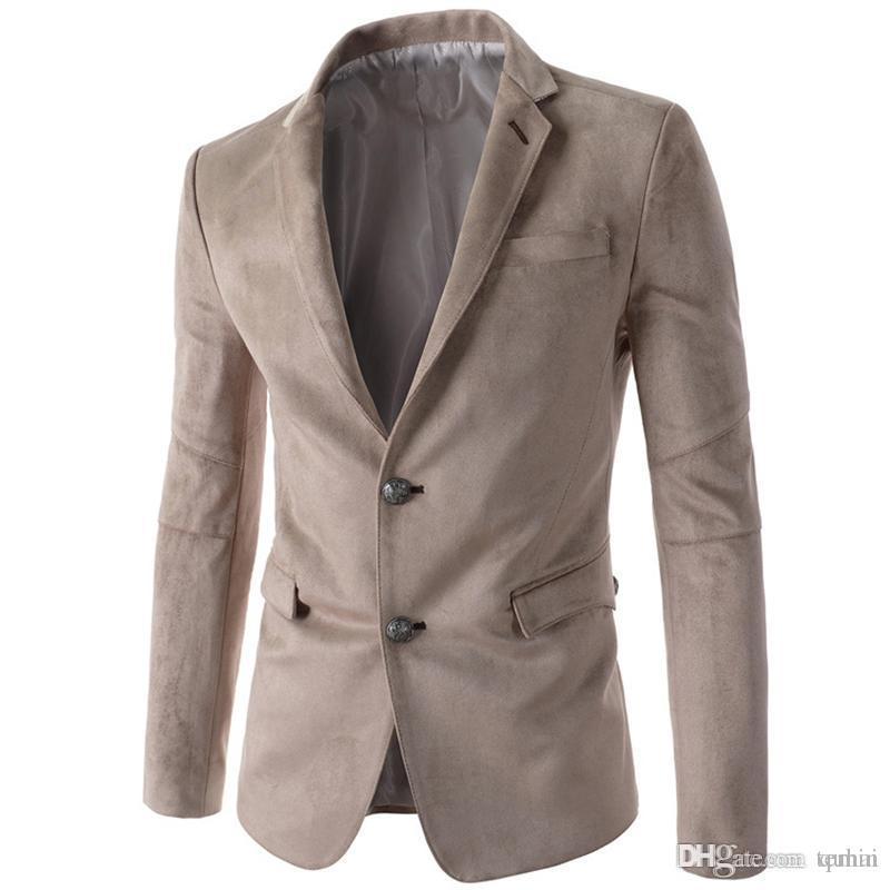 2019 Wholesale Mens Solid Black Velvet Blazer Men Casual Slim Fit