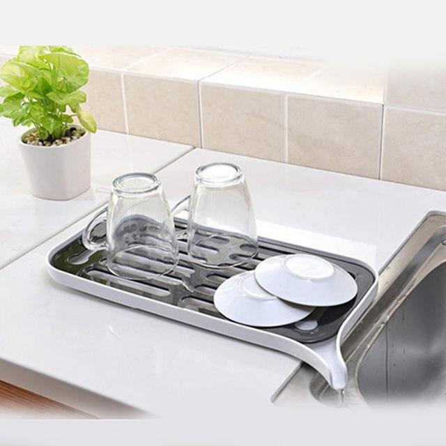 2018 Multifunctional Double Layer Kitchen Drain Shelf Sink Draining ...