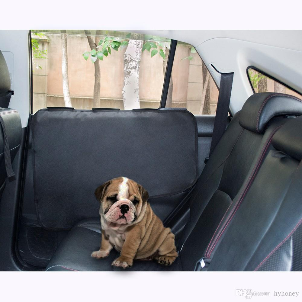2018 Waterproof Pet Car Door Cover Back Seat Door Window Cover For