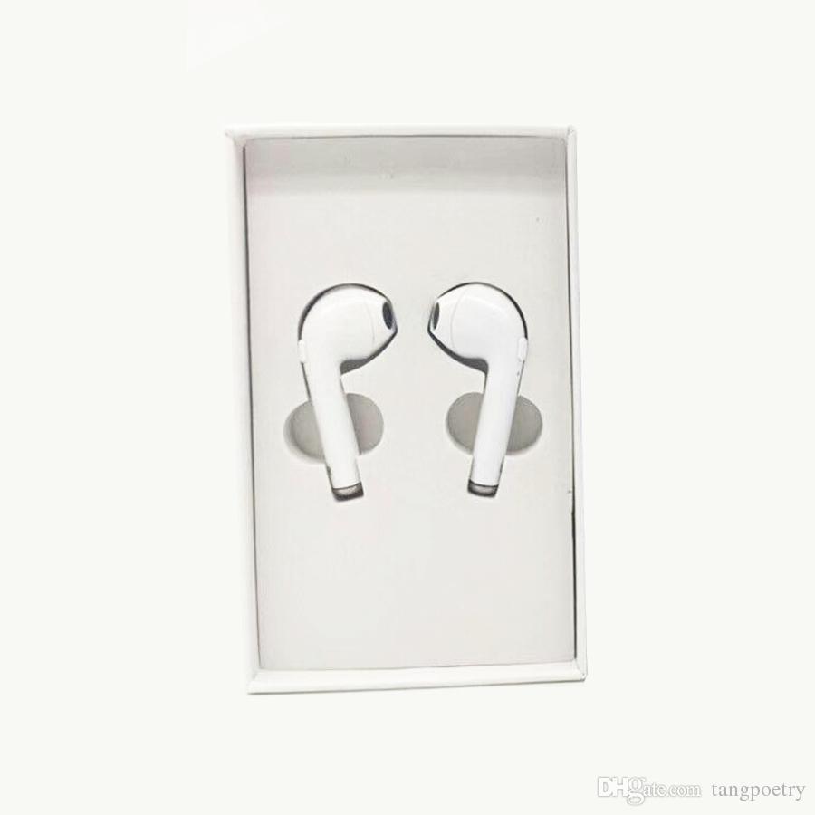 i7 Twins TWS drahtlose Bluetooth Kopfhörer unsichtbare Kopfhörer V4.2 Stereo Musik Earbuds Telefon Hörer für Iphone X mit Kleinpaket