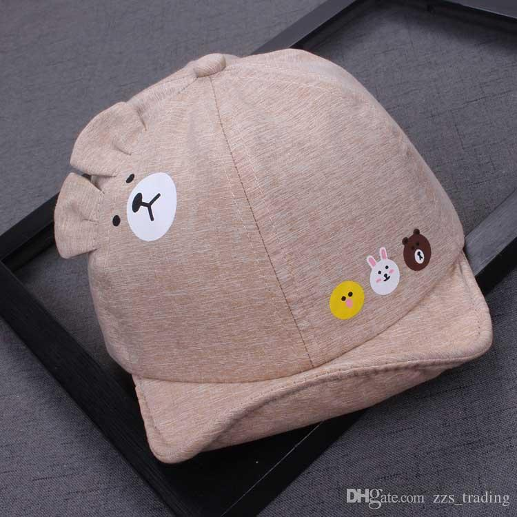 93d1bbe55844c4 2019 Cute Summer Newborn Baby Hat GirlS BoyS Baseball Cap Infant Cotton  Unisex Toddlers Sun Baseball Cap From Zzs_trading, $3.43 | DHgate.Com