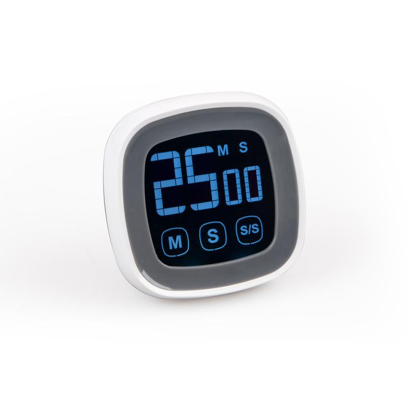 Timer da cucina touch screen, promemoria timer pomodoro, time manager,  orologio pomodoro, conto alla rovescia, posta ordinaria