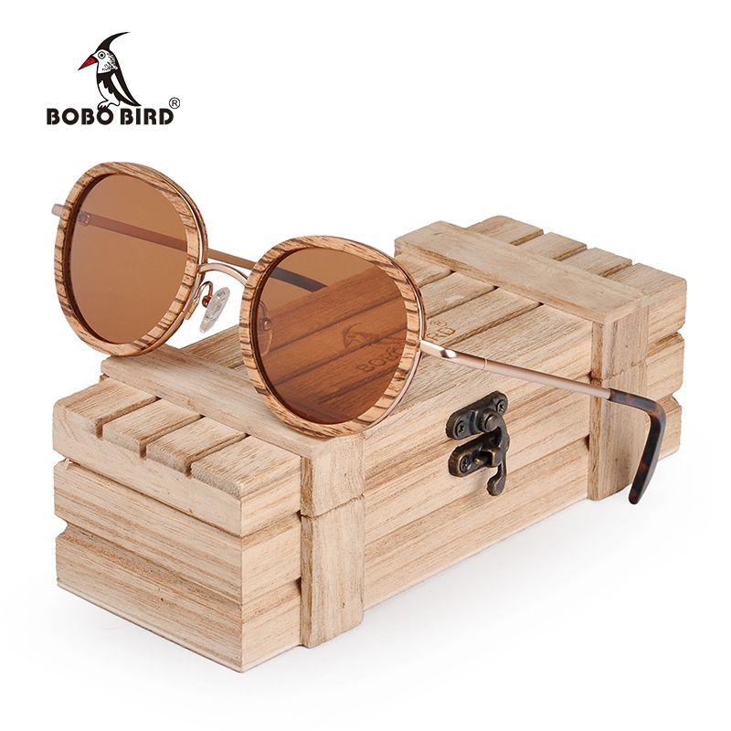 80eddd7e0da8 BOBO BIRD Metal Wooden Sunglasses Men Women Polarized Sun Glasses Ladies  Custom LOGO Neutral Plus Wood Gifts Box Sunglasses Brands Best Sunglasses  From Wdrf ...
