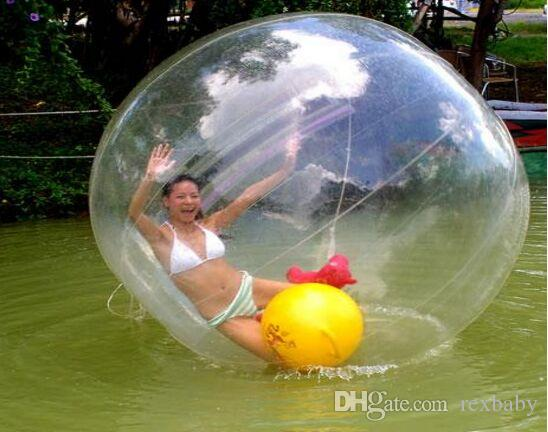 فيديكس الحرة شعبية المشي المياه الكرة pvc نفخ zorb الرقص الكرة الرياضية الكرة المياه 2 متر