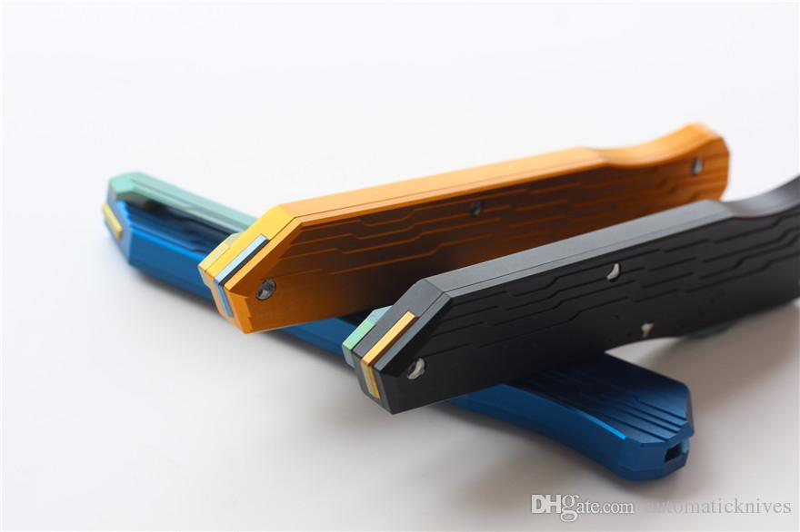 Alta Qualidade VESPA Versão Cypher Combate Tático faca dobrável 3 cores M390 Blade Facas de Sobrevivência Automáticas BM camping caça ferramenta EDC