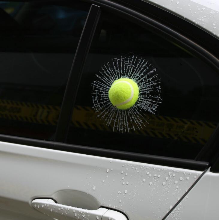 Best 44 3d cars stickers football basketball tennis baseball car glass sticker creative car emblem interesting car decoration under 4 03 dhgate com