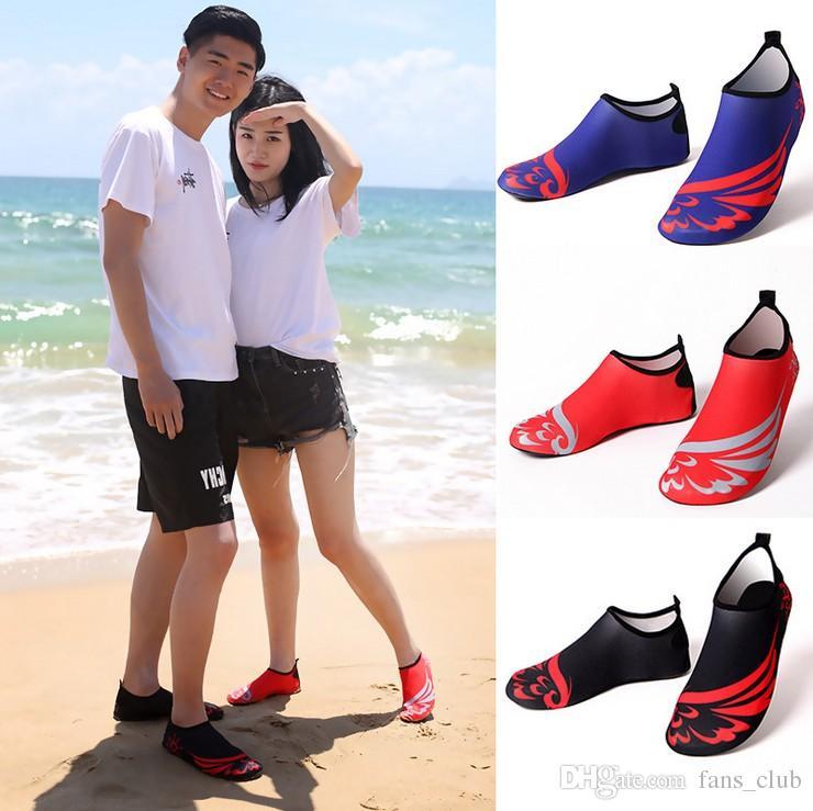 14fb3134 Compre 2018 Zapatos De Buceo Zapatos De Agua Zapatos De Agua De Secado  Rápido Ligeros Barefoot Aqua Zapatillas De Deporte Para Hombres Mujeres  Surf Nadar ...