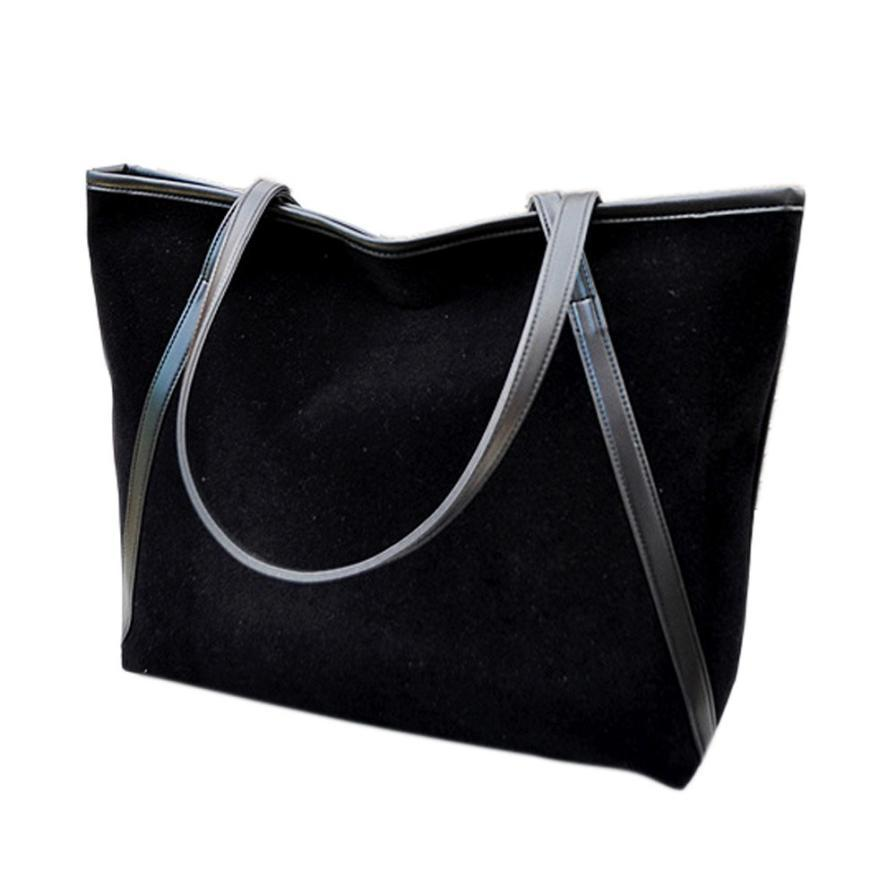 2cc3d0a12392 2016 Fashion Women Leather Bag Ladie New Simple Winter Larger Capacity Suede  Bag Women Messenger Crossbody Bags  0 Ladies Purse Leather Briefcase From  Murie ...