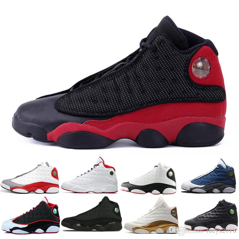 a9a6cf0cf9fb82 New Basketball Shoes 13 13s XIII Men Women White Bred Chicago DMP Bordeaux  Wheat Phantom He Got Game Olive Flint Designer Shoe Sneakers Hyper Royal  Love ...