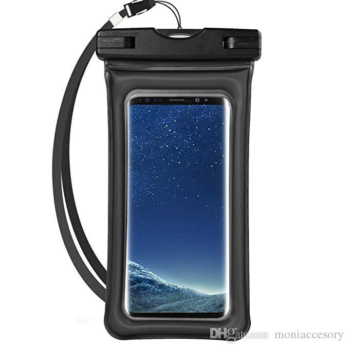 brand new 73dab e35c1 Universal Airbag Cellphone Waterproof Dry Bag Underwater Phone Pouch with  Lanyard and Touch Screen Function for Samsung Iphone 195mm*105mm