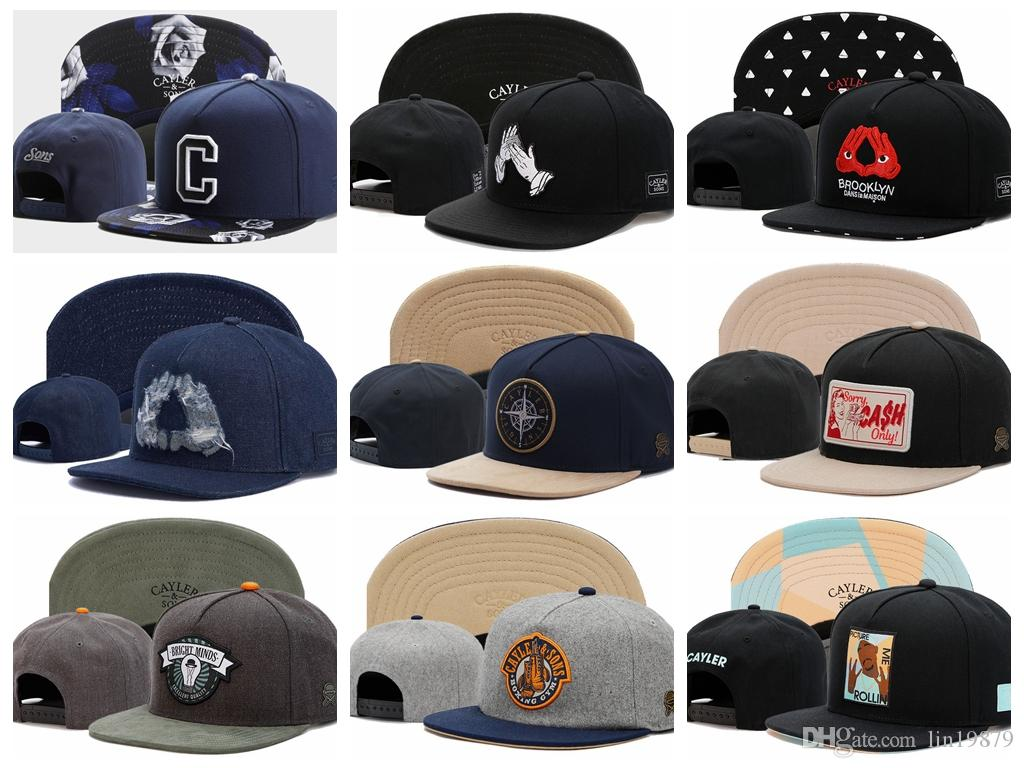 Newest Arrival Mens Cayler   Sons Snapback Hats Bone Gorras Swag ... 95146484426c