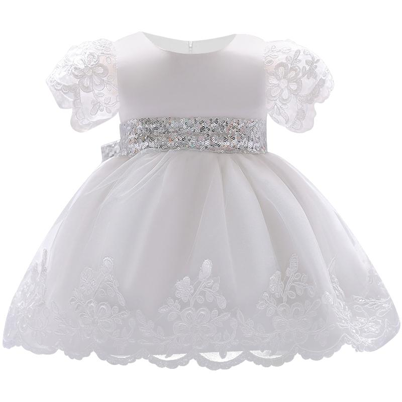 2019 2018 Baby Girl Dress Lace White Baptism Dresses For Girls 1st Year Birthday  Party Wedding Christening Baby Infant Clothing From Benedicty c6221fea2719