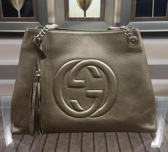 c5c20a64b00c 308982 ORIGINAL GOLDEN LEATHER SHOPPING BAG HANDBAG Hobo HANDBAGS TOP  HANDLES BOSTON CROSS BODY MESSENGER SHOULDER BAGS Branded Handbags Womens  Handbags ...
