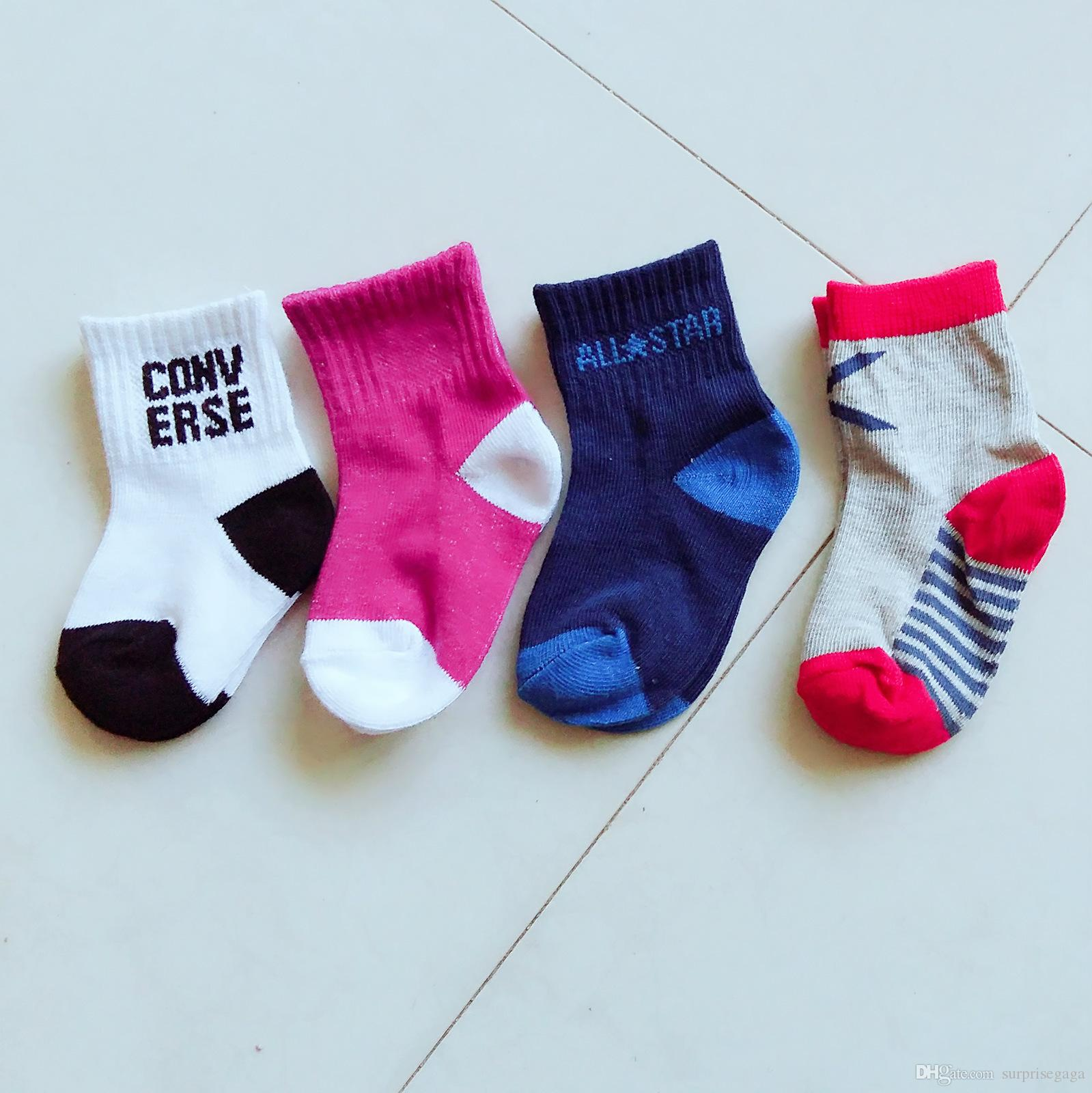 Children Socks Autumn And Winter New Manufacturers Wholesale Cotton