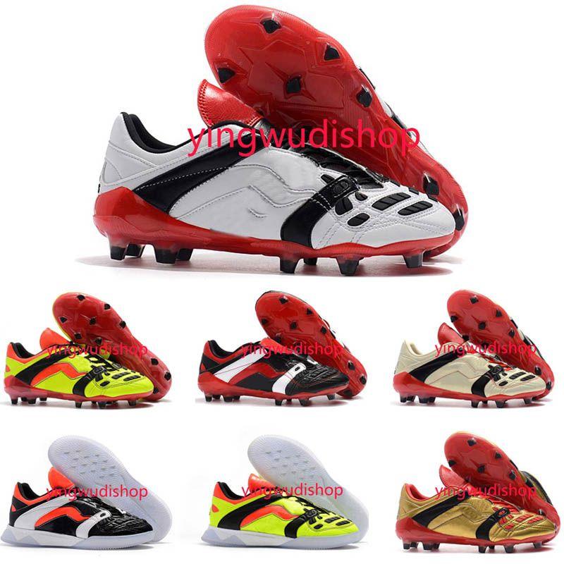 d1887b18e4395 Predator Accelerator 1998 Electricity David Beckham Soccer Cleats Mens  Soccer Shoes Football Boots Soccer Shoes Soccer Boots Football Boots Online  with ...
