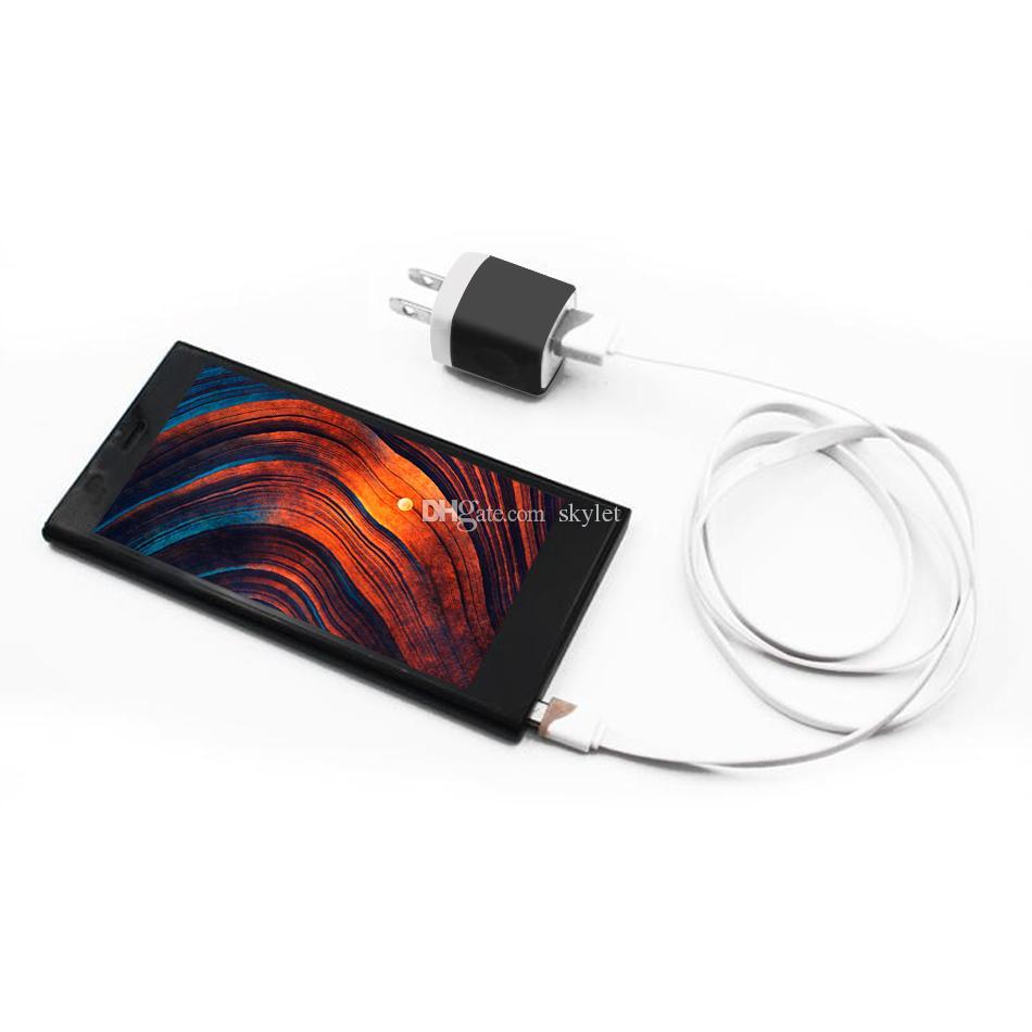 5V / 1A NOKOKO 여행 힘 접합기 iPhone를위한 벽 충전기 위탁 플러그 Samsung Huawei Moto 노키아 보편적 인 위탁 충전기 아니오 포장