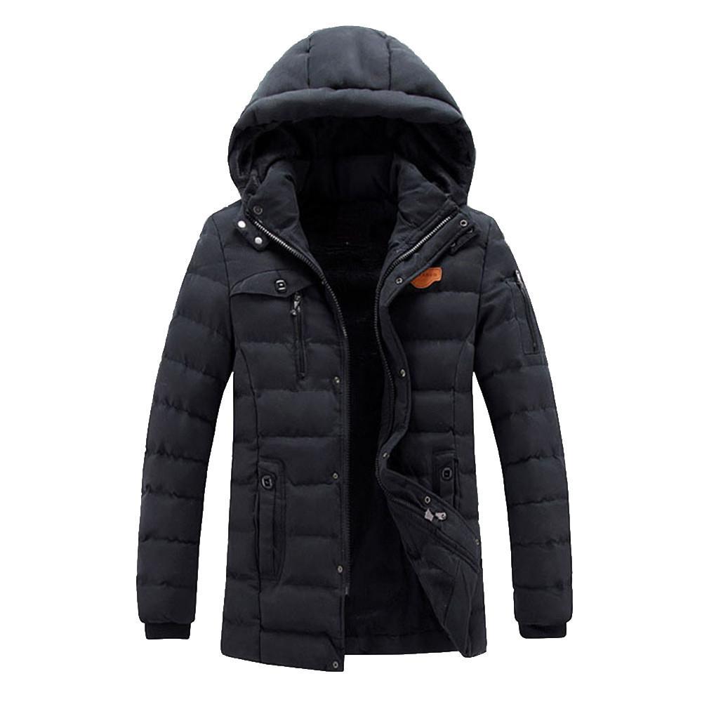 En Qualité Marque Coat Top Trench Capuche Manteau Britannique Laine Automne Style Hommes Hiver Nouveau Zipper Long Vêtements Design dthQsr