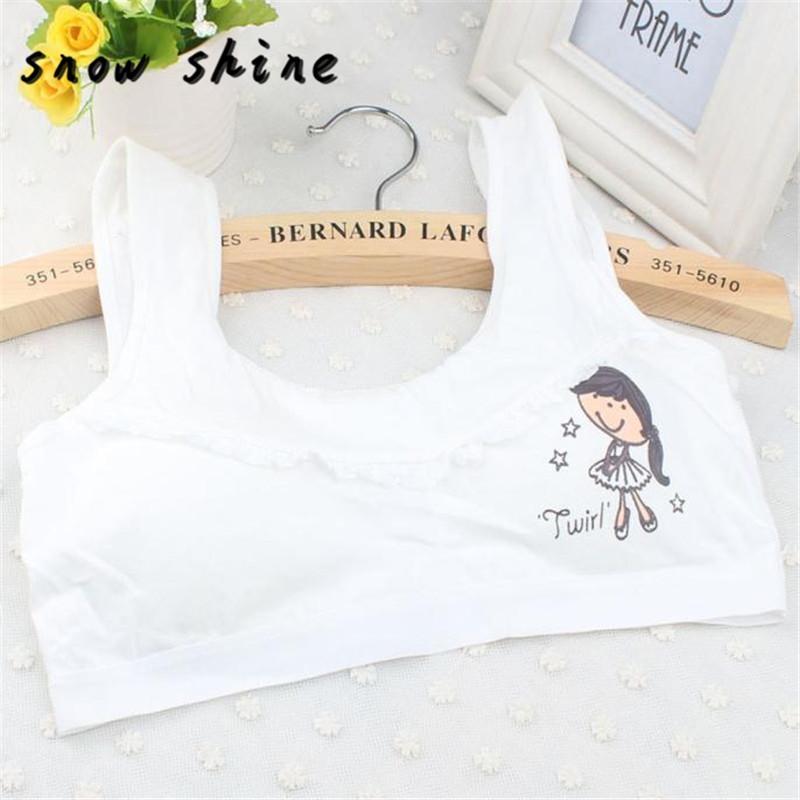 7723b96c4f 2018 Snowshine  4503 New Lovely Bra Girls Underwear Bra Vest Children  Underclothes Undies From Vanilla15