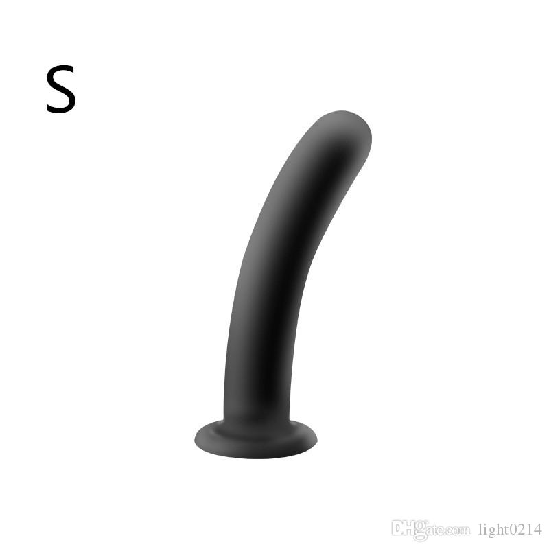 Anal Plug Silicone Butt Plug Protate Massage G-Spot Stimulate Anal Dildo Sex Toys Butt Stopper Adult Game for Woman H8-2-74