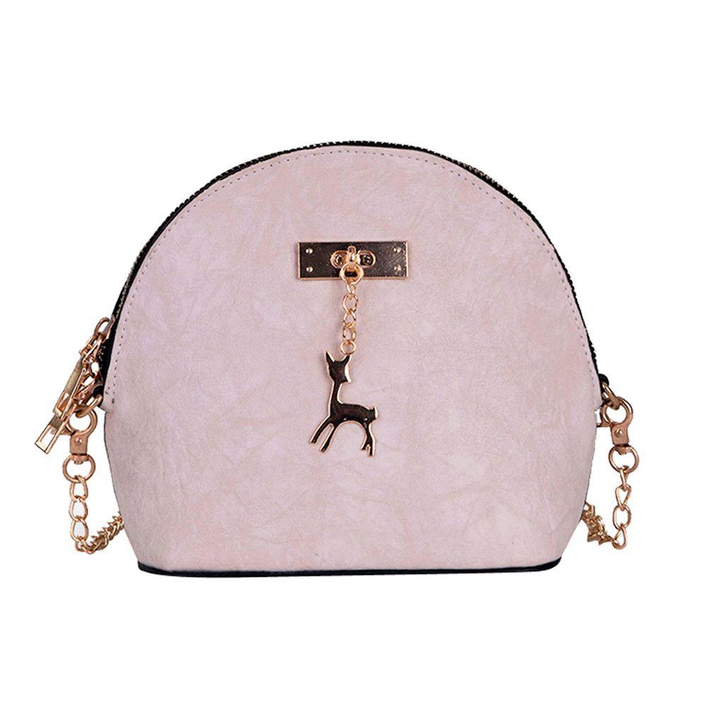 9bf7f5a57 Compre Saco Das Mulheres De Luxo Da Marca De Couro Das Mulheres Crossbody  Bag Pequenos Sacos De Ombro Dos Veados Bolsa Mensageiro Carteras Y Bolsos  De Mujer ...