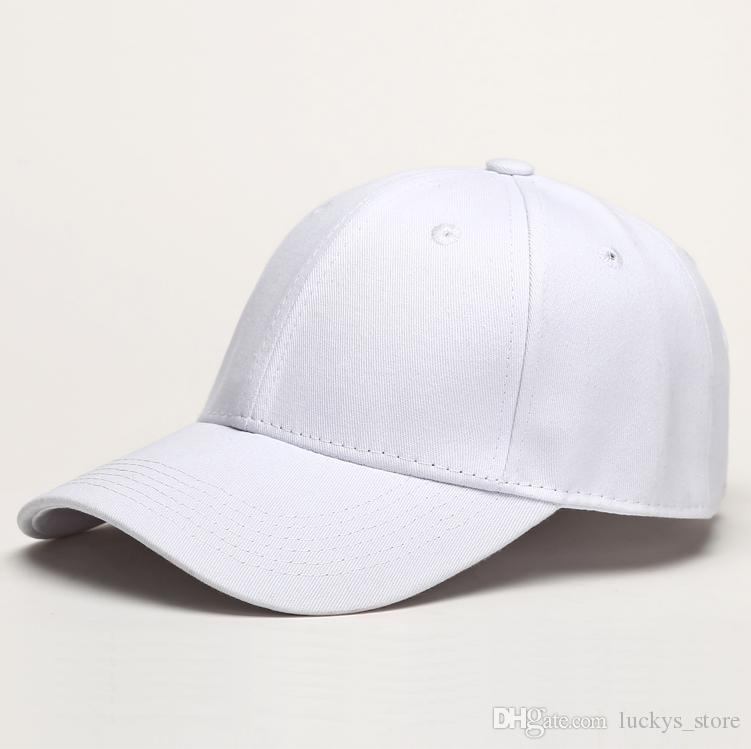 High quality Street Baseball cap 100% cotton Adjustable Snapbacks Custom Plain sports hat hip hop casquette casual sun visor popular caps