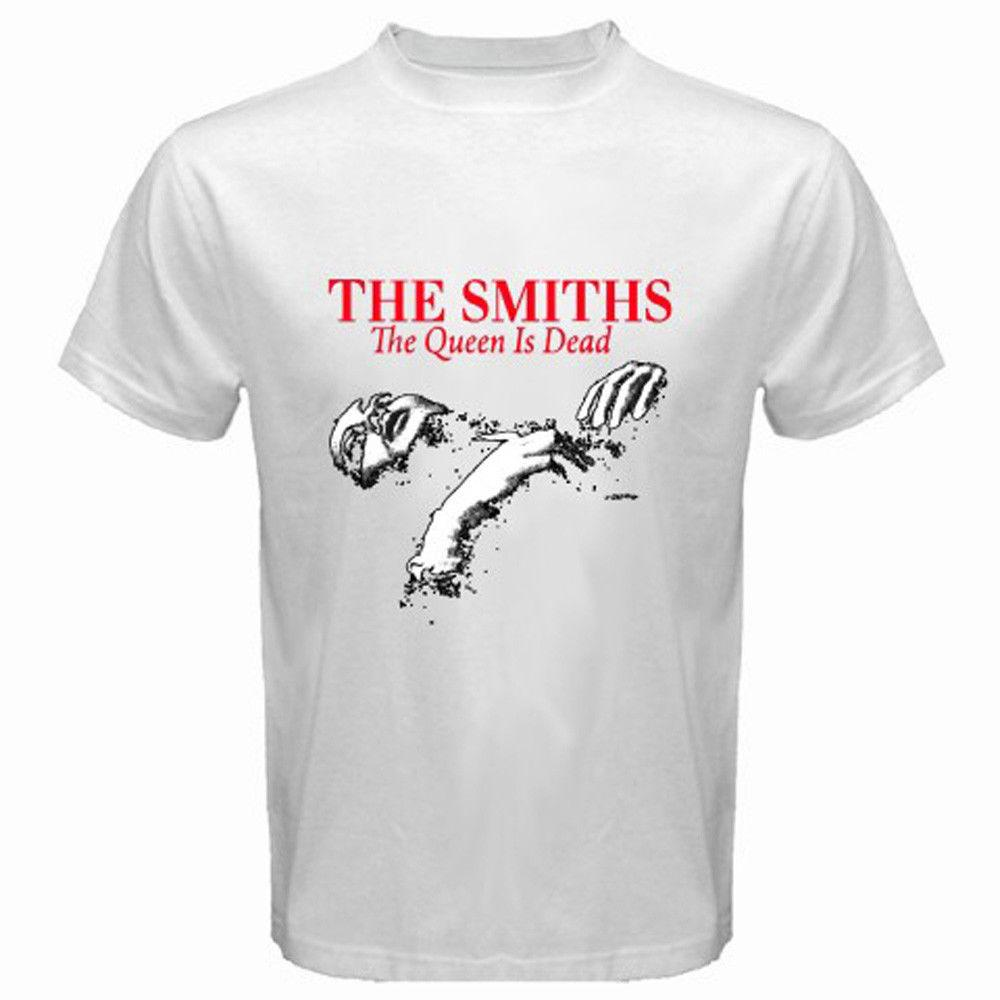 0793a7a7 THE SMITHS *The Queen Is Dead 80'S Rock Music Men'S White T Shirt Size S To  3XL Shop Online T Shirts T Shirt From Wholesaletshirts47, $11.58| DHgate.Com