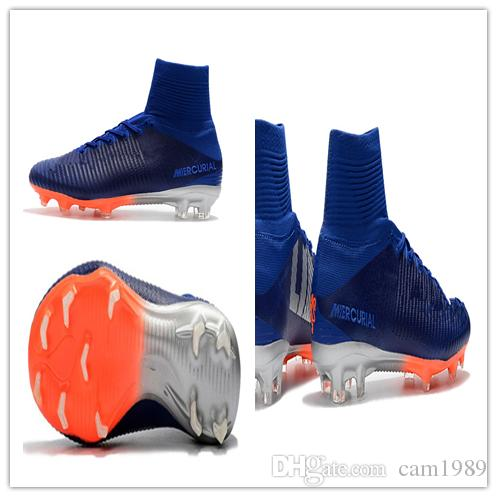 2019 2018 Men Mercurial Superfly CR7 V FG AG Football Boots Cristiano  Ronaldo High Tops Neymar JR ACC Soccer Shoes Magista Obra Soccer Cleats  From Cam1989 d7c41624431